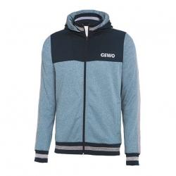Gewo Hoody H18-1 blauw-grijs