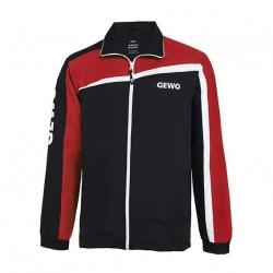 Gewo Trainingsvest Tarent TS18-1 zwart-rood