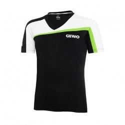 Gewo Shirt Teramo Lady S18-3 zwart-wit