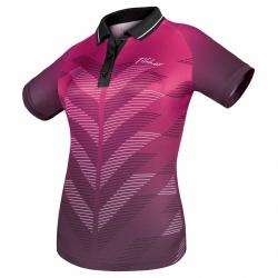 Tibhar Shirt Lady Astra roze-zwart