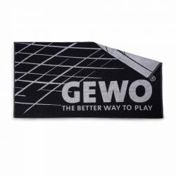 Gewo Handdoek Game XL zwart-grijs
