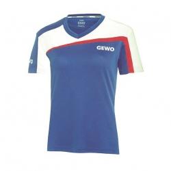 Gewo Shirt Teramo Lady S18-3 blauw-wit