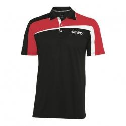 Gewo Shirt Teramo S18-2 Katoen zwart-rood