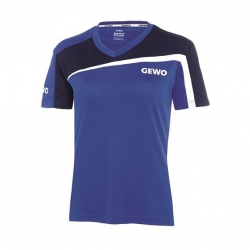 Gewo Shirt Teramo Lady S18-3 blauw-navy