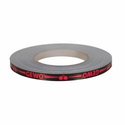 Gewo Zijkantband zwart-rood 10 mm x 50 m