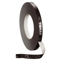 Tibhar Zijkantband Evolution zwart-wit 12 mm x 5 m
