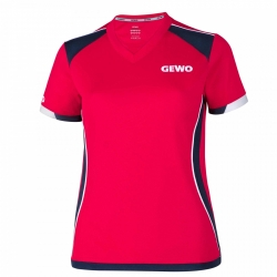 Gewo Shirt Murano Lady rood-navy