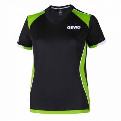 Gewo Shirt Murano Lady zwart-groen