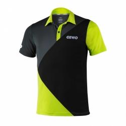 Gewo Shirt Ravello zwart-groen