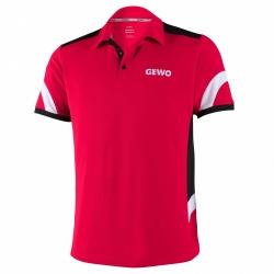 Gewo Shirt Trapani rood-zwart