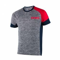 Gewo T-Shirt grijs-rood