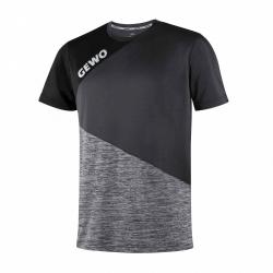 Gewo T-Shirt Rossano zwart-grijs