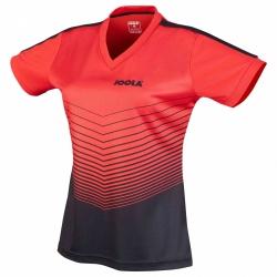 Joola Shirt Move Lady rood-zwart
