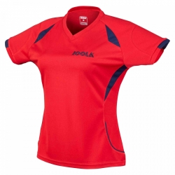 Joola Shirt Perform Lady rood-navy