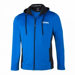 Gewo Trainingsvest Fano blauw-zwart