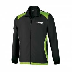 Gewo Trainingsvest Monto zwart-groen