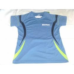 Joola shirt Loop Lady blauw-groen * Polyester - S