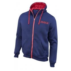 Joola Hoody Danny blauw-rood