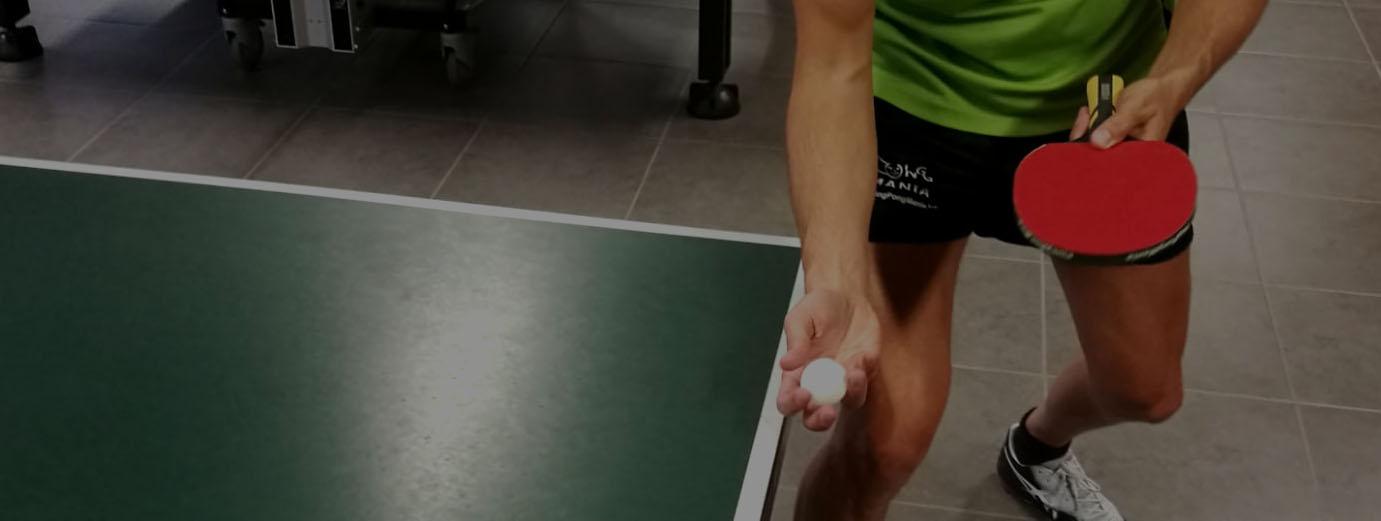 pingpong mania pingpongende man